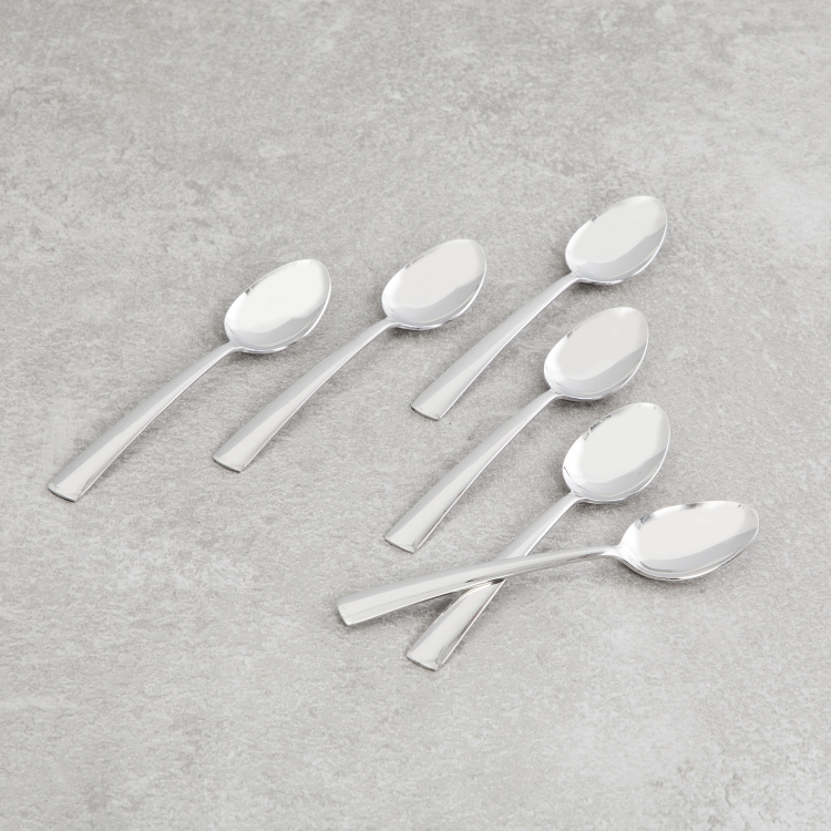 FNS Solo Solid Baby Spoon -Set of 6