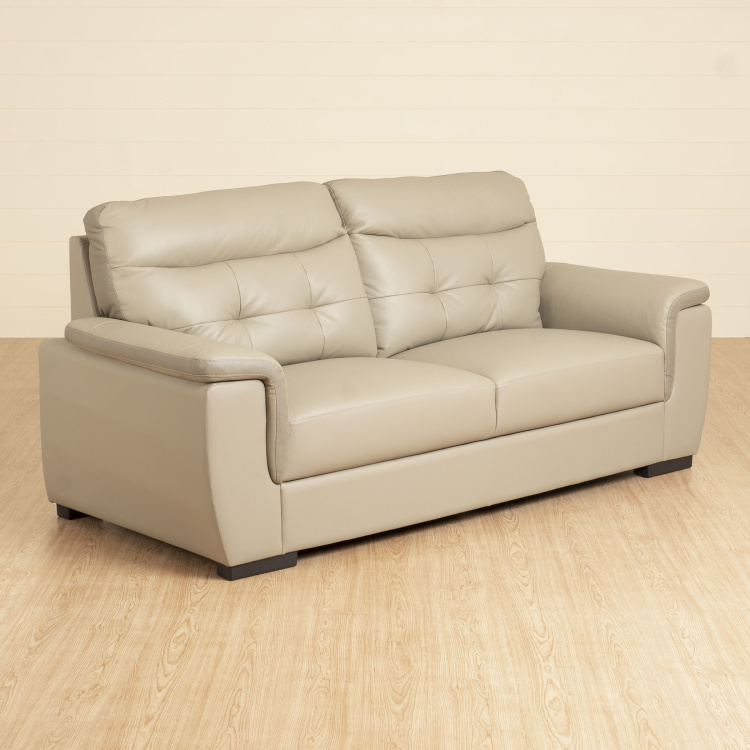 Corbis Leather 3-Seater Sofa