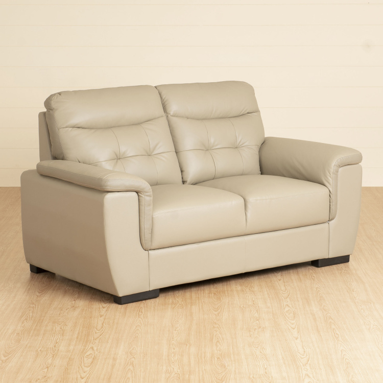 Corbis Leather 2-Seater Sofa