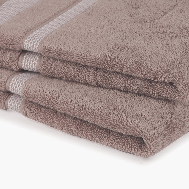 SPACES Active Hygro Textured Hand Towel- Set of 2- 40 X 60 cm