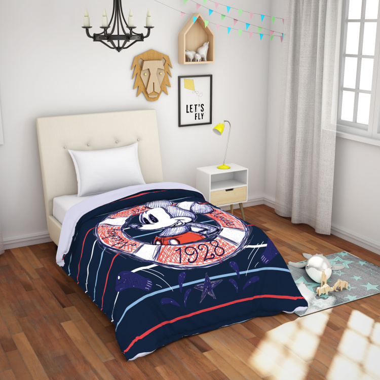 SPACES Essentials Disney Print Single Bed Blanket - 149 X 218 cm
