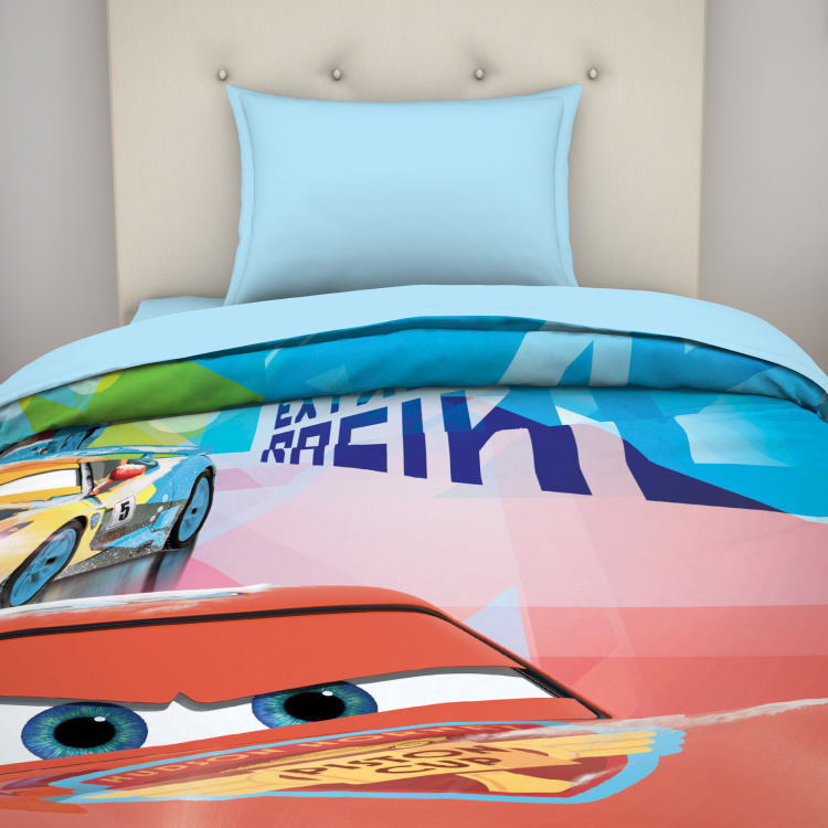 SPACES Cars Print Single Bed Blanket- 149 X 218 cm