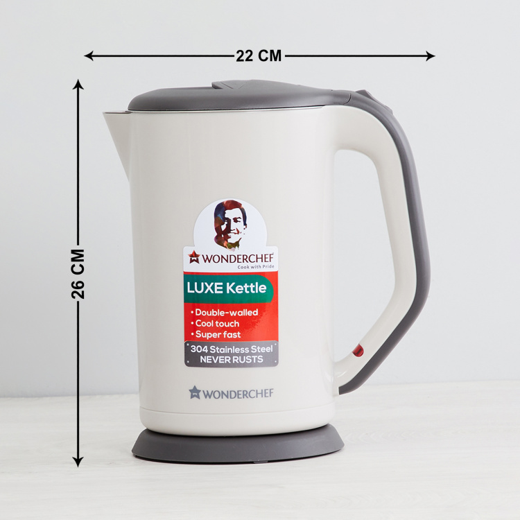 WONDERCHEF Luxe Electric Kettle - 1.7 L