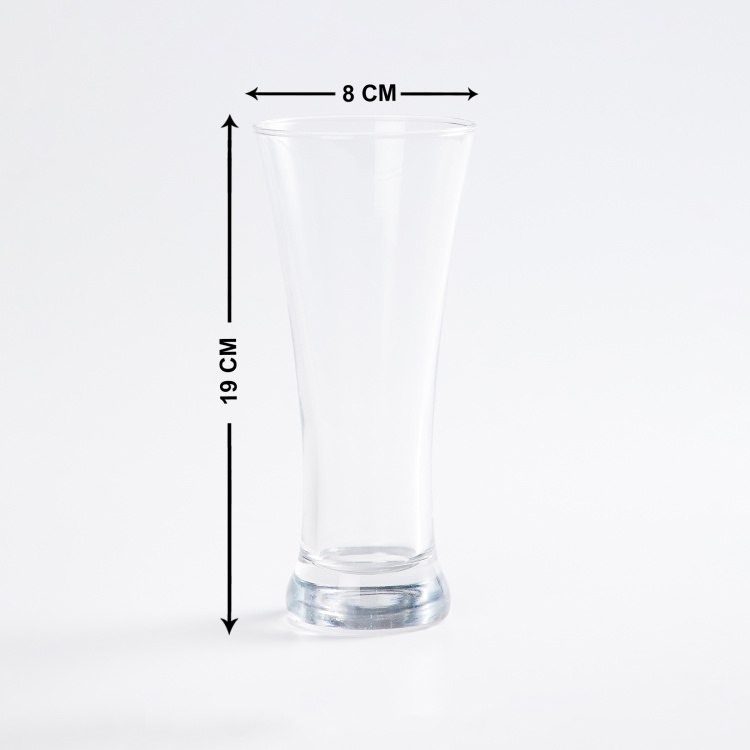 Wexford Firenze Pilsner Super Clarity Glasses - Set of 6 - 380ml