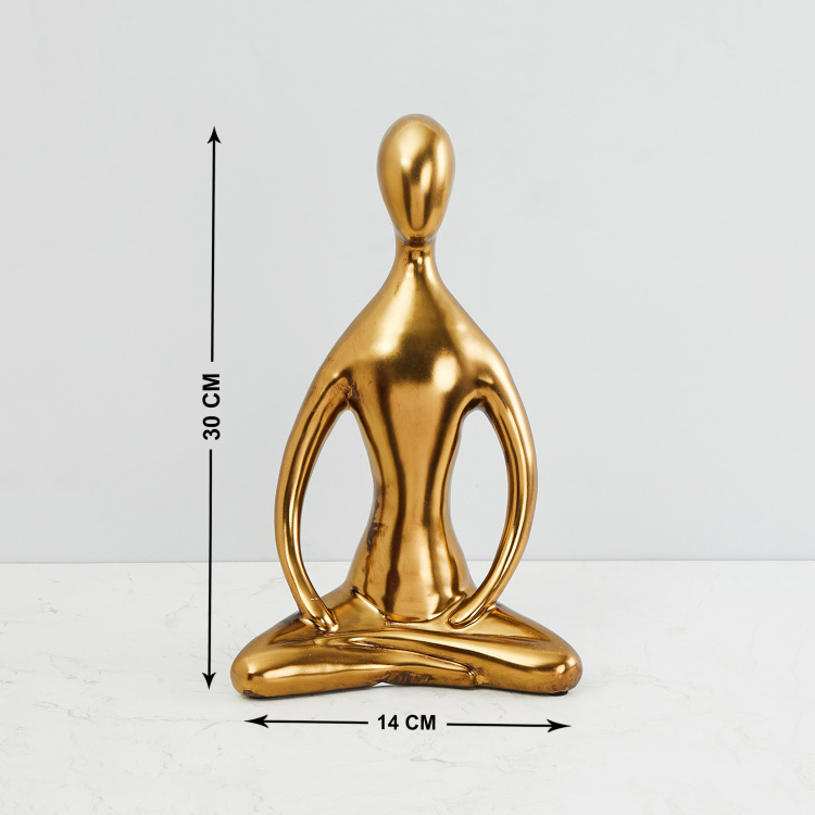 Splendid Abstract Modern Yoga Figurine