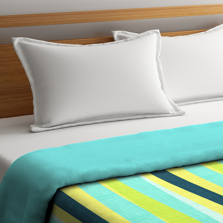 Cadence Striped Double Bed Duvet Cover - 229 x 274 cm