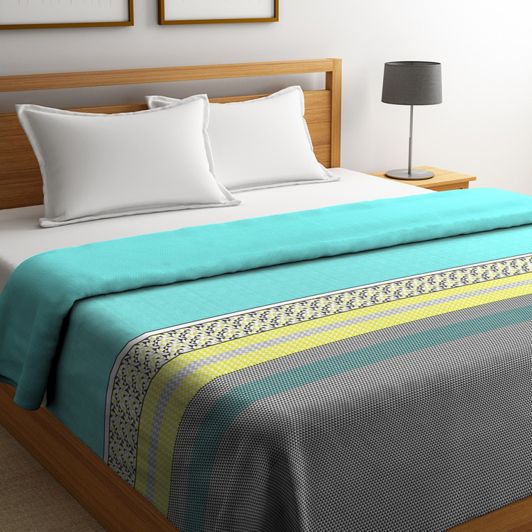 PORTICO Cadence Reversible Double Bed Duvet Cover - 229 x 274 cm