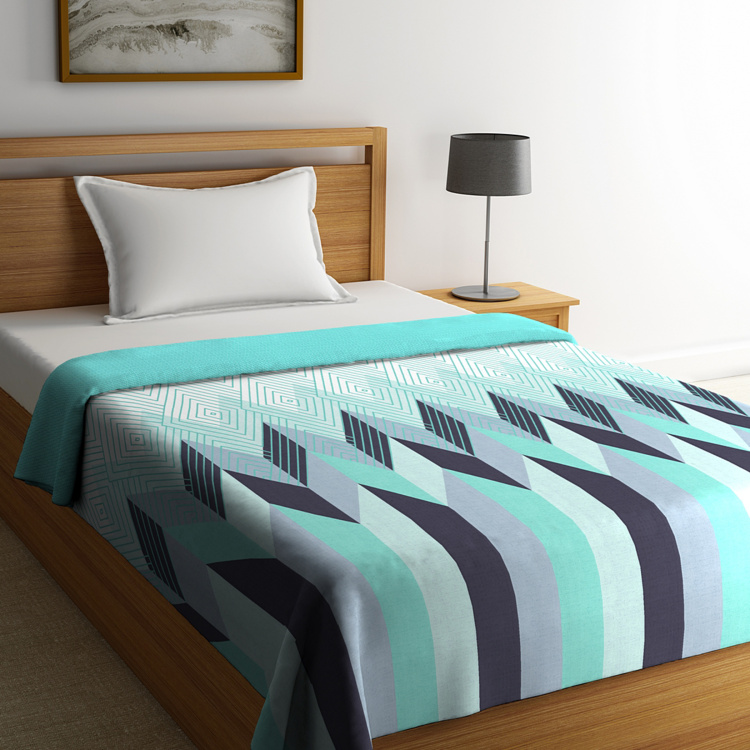 PORTICO Cadence Reversible Single Bed Comforter - 152 x 224 cm