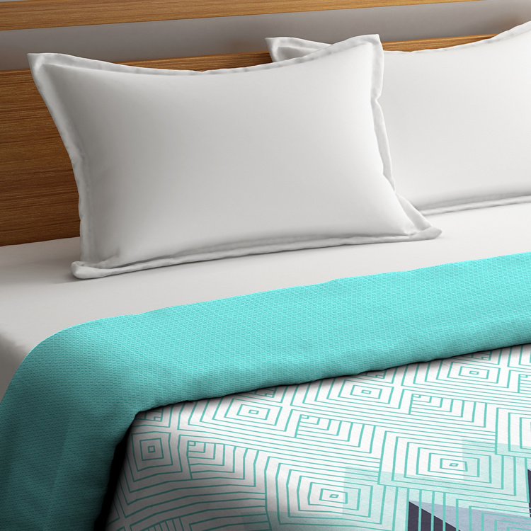 PORTICO Cadence Reversible Double Bed Comforter - 224 x 274 cm