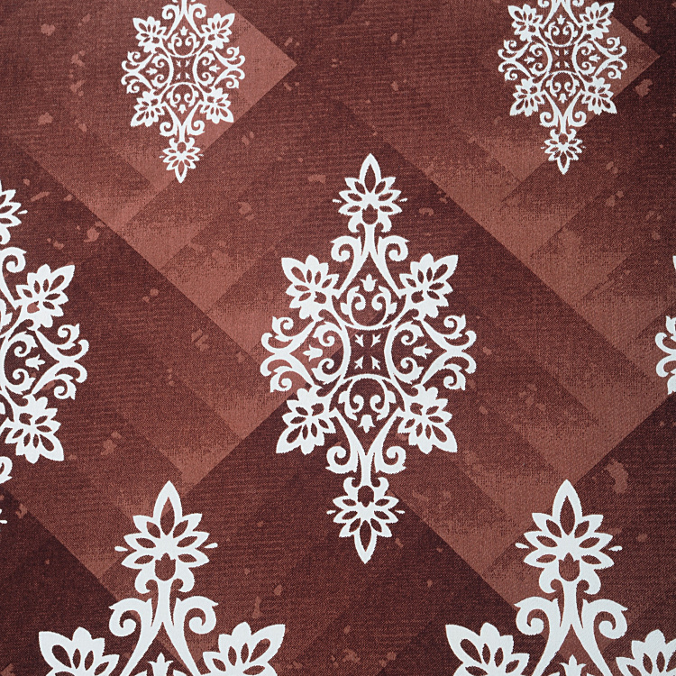 SWAYAM Printed Cotton Diwan Set-Set Of 6 Pcs.