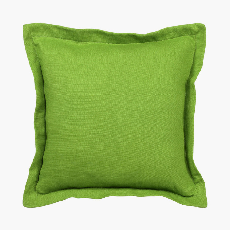 SWAYAM Solid Cushion Covers - Set of 5 - 30 x 30 cm