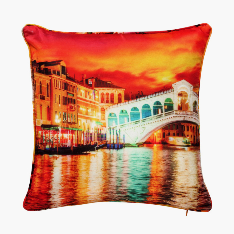 SWAYAM Printed Cushion Covers - Set of 2 - 40 x 40 cm