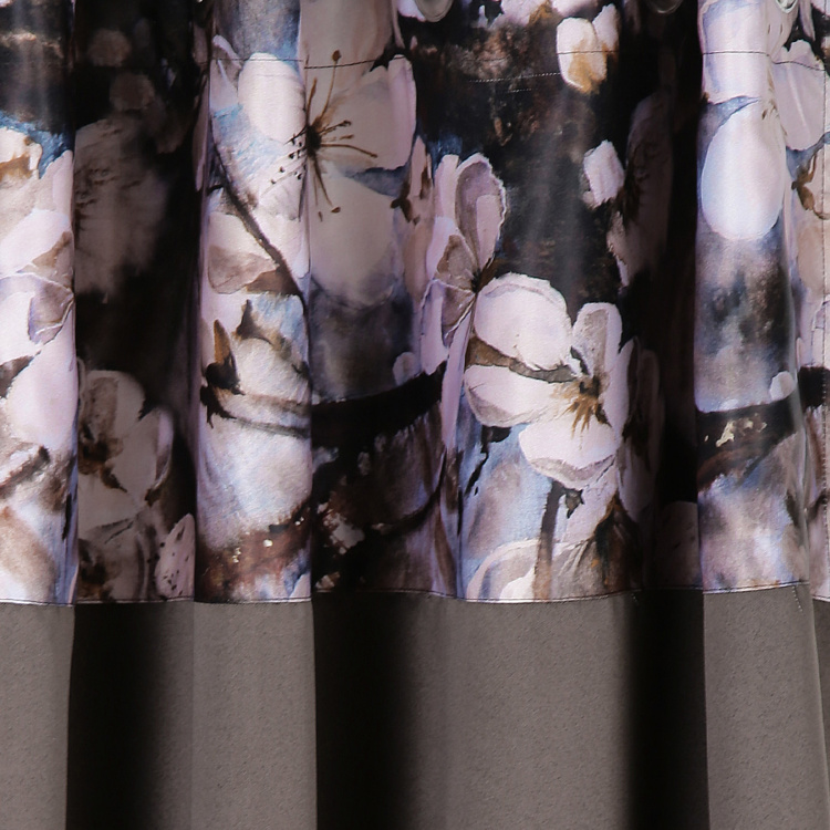 SWAYAM Floral Print Window Curtain - 121 x 152 cm