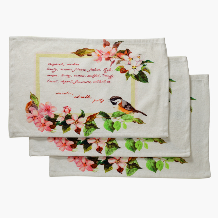 SWAYAM Printed Placemats - Set of 6