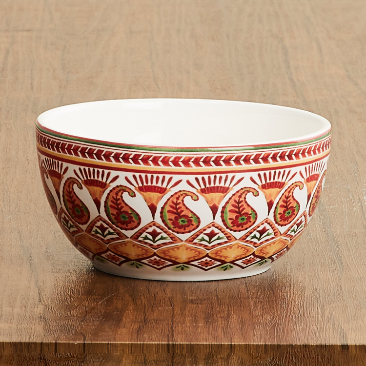 Helina Printed Round Cereal Bowl