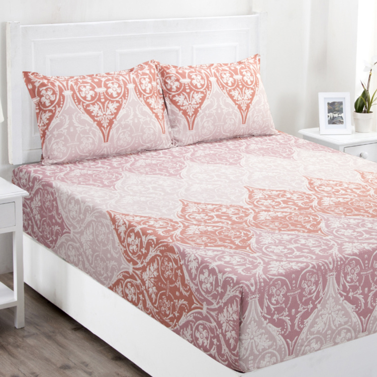 MASPAR Zephyr Printed 3-Piece Queen-Size Bedding Set - 224 x 275 cm